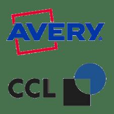 Avery & CCL Company Logos