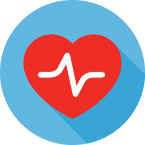 Employee health icon