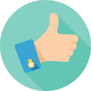 Employee satisfaction icon