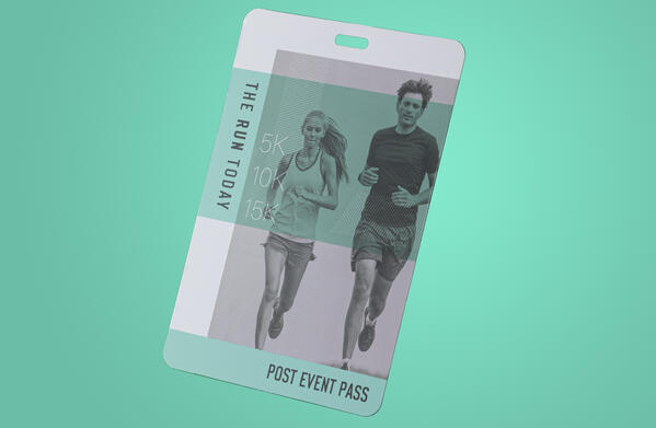 Eco Event Pass by pcnametag