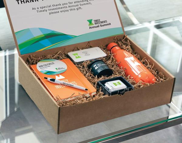 Direct mail marketing gift box