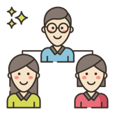 Virtual attendee engagement icon