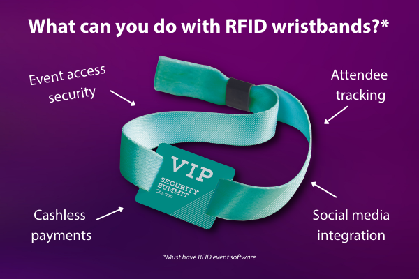 Tip - Benefits of RFID wristbands for your event