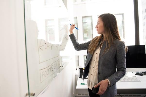 marketer creates business plan