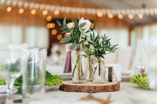 Eco-friendly table centerpiece