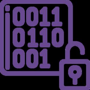 event information encryption icon