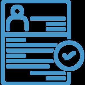 event registration information icon