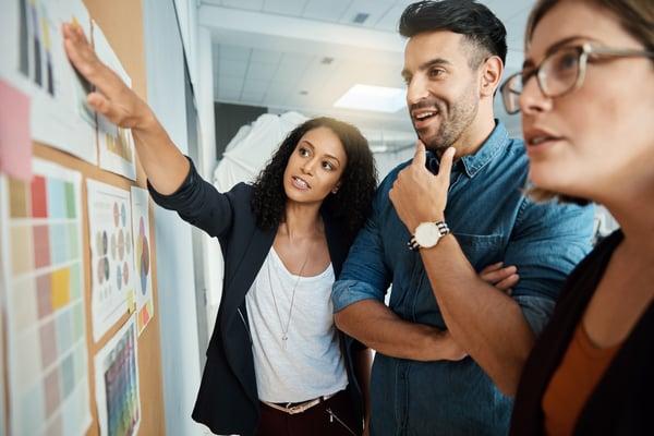 marketing team creates marketing plan
