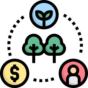 sustainable events icon